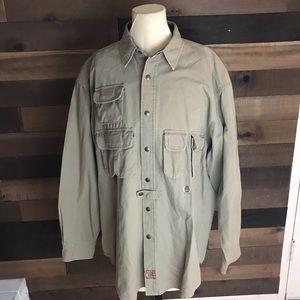 Tommy Hilfiger expedition ranger vintage shirt lg